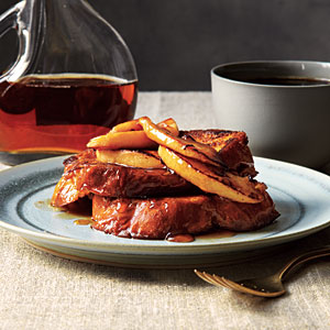 French Toast with Maple-Apple Compote Recipes
