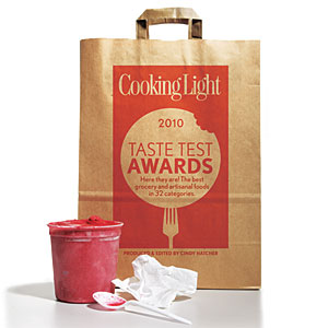 Cooking Light Taste Test Awards