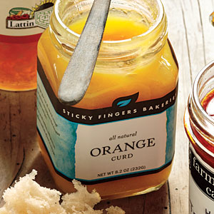 Sticky Fingers Bakeries Orange Curd