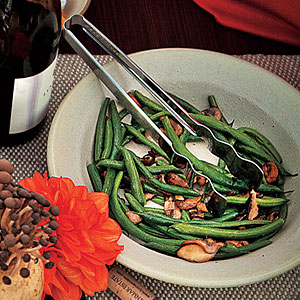 Kid-Friendly Buttered Green Beans and Mushrooms
