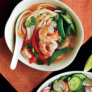 Spicy Shrimp Noodle Bowl Recipes
