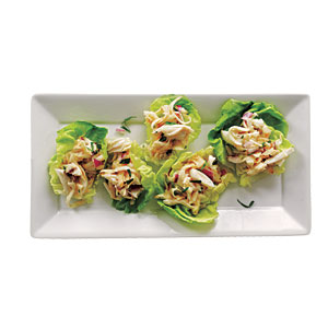 Under 100 Calorie Appetizer: Crab and Celery Root Rémoulade