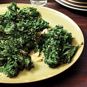 Garlic-Roasted Kale Recipes