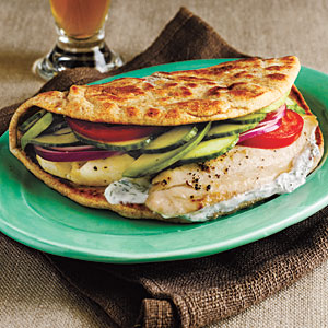 Broiled Tilapia Gyros Recipe