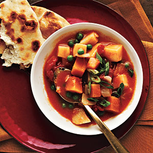 Curried Potatoes and SquashRecipes