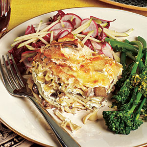 Truffled Wild Mushroom Lasagna Recipes
