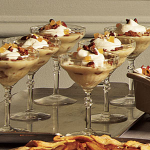 Gingery Banana Pudding with Bourbon Cream Recipe