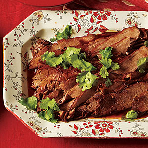 Make-Ahead Dinners: Beer-Braised Brisket with Honey-Lime Glaze