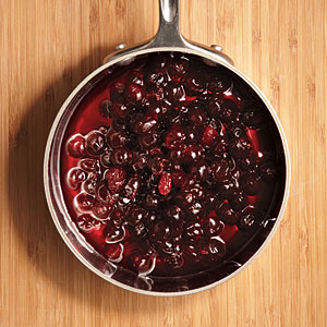Cook cranberries