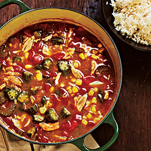 Make-Ahead Dinners: Crab and Vegetable Gumbo