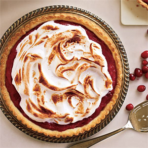 Meringue-Topped Cranberry Curd Tart Recipes