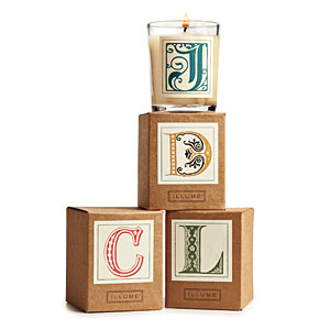 Illume Monogram Candle