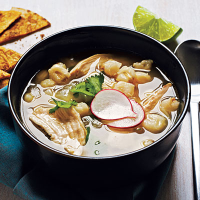 Mexican Chicken-Hominy Soup - Quick and Easy Soups and Stews for ...