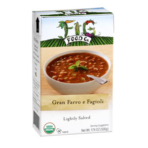 Fig Food Gran Farro e Fagioli Soup