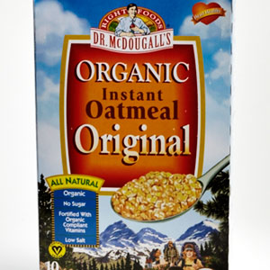 Dr. McDougall's Organic Instant Oatmeal, Original Flavor