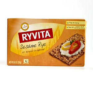 Ryvita Sesame Rye All Natural Crispbread