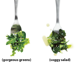 Avoid Soggy Salad