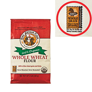 Whole-Grain Stamp Nutrition Label