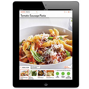 Cooking Light's Quick and Healthy Menu Maker iPad App