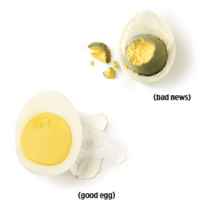 How to Avoid Ruining Hard-Cooked Eggs
