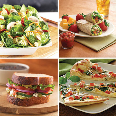 Best vegetarian options at fast food restaurants