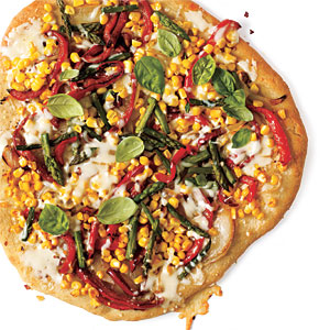 Summer Veggie Pizza Budget Cooking Recipe