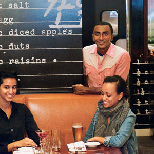 Marcus Samuelsson at Red Rooster
