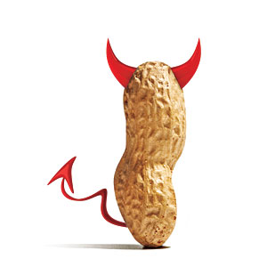 Bad Peanut Illustration