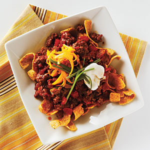 Chili-Corn Chip Pie Recipe