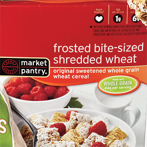 Target Market Pantry Frosted Bite-Sized Shredded Wheat