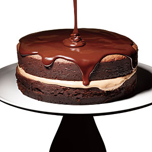 Triple-Chocolate Cake Recipe
