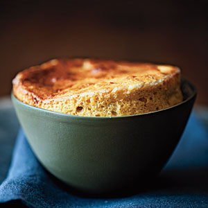 Cheese and Squash Soufflés Recipe