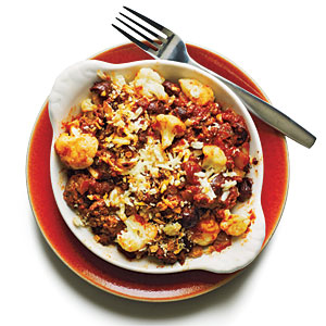 Baked Italian-Style Cauliflower Budget Cooking Recipe