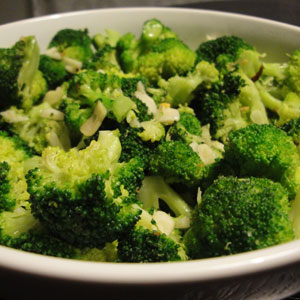 Reader Photo: Broccoli with Red Pepper Flakes and Toasted Garlic