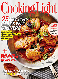 Cooking Light January/February 2012 Cover