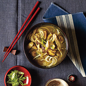 Chicken-Udon Soup