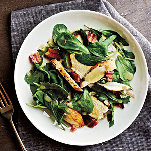 Sautéed Chicken with Warm Bacon Vinaigrette Recipe
