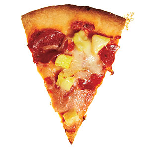 The Happy Hawaiian Pizza Topping