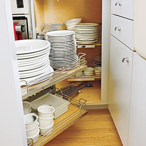 Space-Saving Storage Kitchen Renovation