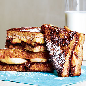 Banana-Chocolate French Toast Recipe