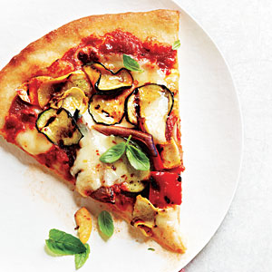 Summer Grilled Vegetable Pizza