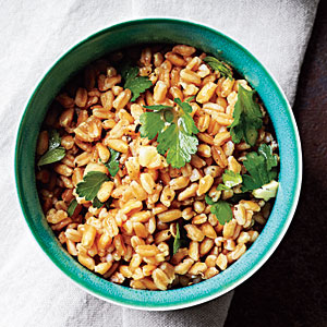 Parsley-Farro Salad Recipe