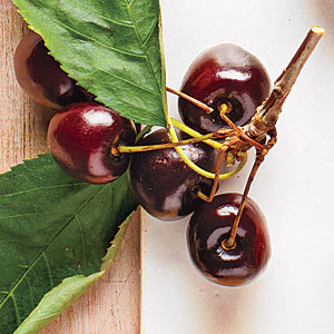 These sweet cherries work well in Double-Cherry Upside-Down Cake or as a topping to a summer salad.Shop: