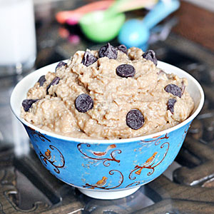 Recipe for Healthy Indulgence: Cookie Dough Dip