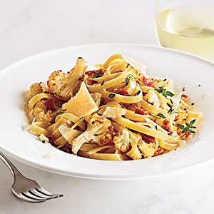Roasted Cauliflower Fettuccine Recipe