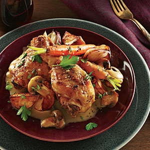 Champagne–Browned Butter Chicken