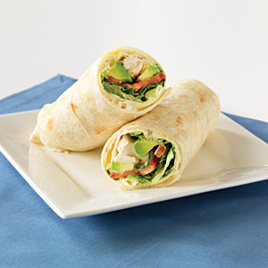 Au Bon Pain Napa Chicken with Avocado Wrap