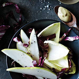 Pear and Winter Lettuce Salad