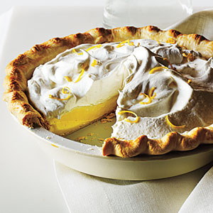 Lemon Cream Pie Comfort Food Recipe