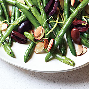 Olive-Almond Green Beans